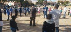 شرطة جبل امساعد تحسس تلاميذ الطور الابتدائي