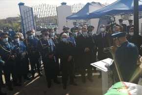 المدير العام للأمن الوطني االسيد خليفة اونيسي يدشن مقر أمن دائرة بوسعادة الجديد