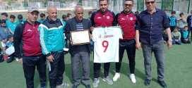 إدارة نادي مستقبل بوسعادة تكرم لخضر منصور وساسوي