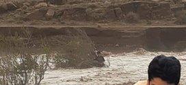 فيديو  خطير جدا .. قصة طفل ينجو من السيول بواد الشعير ولاية المسيلة