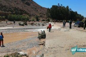 جريان الأودية يغرق خمسة أشخاص و إنقاذ العشرات من طرف الحماية المدنية بولاية المسيلة