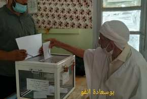 انطلاق عملية التصويت للانتخابات التشريعية في ظروف جيدة ببوسعادة