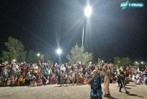 سهرة ثانية للاطفال من ليالي صيف منتزه التيرة الخضراء ببوسعادة
