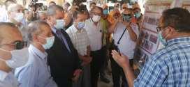الامين العام يشرف على إعطاء اشارة انطلاق مشروع حماية مدينة بوسعادة