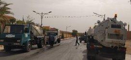 العملية الثالثة لنظافة المحيط وتنقية البالوعات بلدية اولاد سيدي ابراهيم
