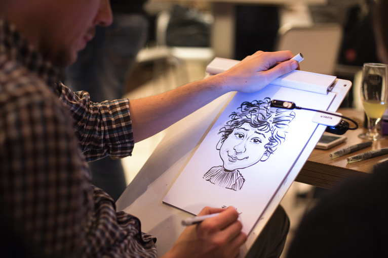 caricaturiste animation luxembourg