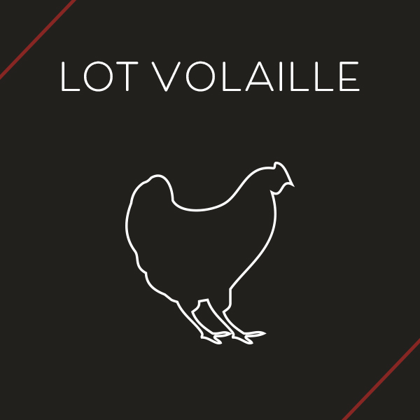 Lot Volaille