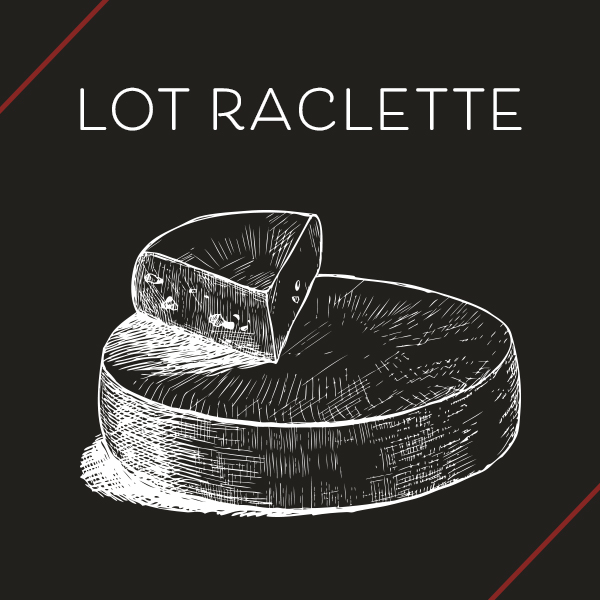 Lot raclette fromagerie poitiers