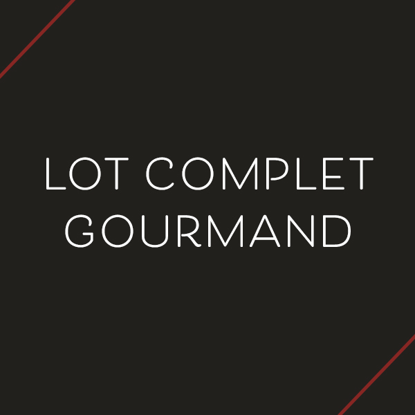 Lot complet gourmand