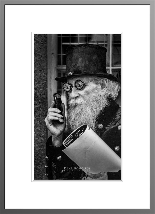 Old Telephone Guy (B&W)_Matted_WP