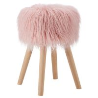 Faux Fur Stool | Bouclair.com