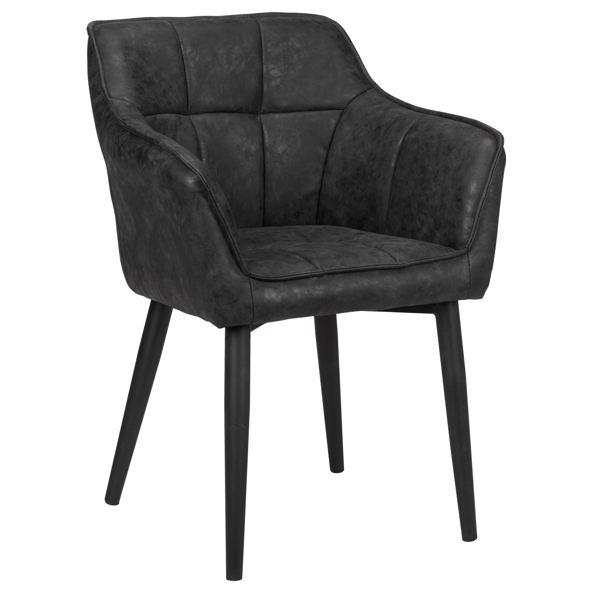 faux leather dining chairs where to get chair covers textured and metal bouclair