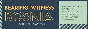 Bearing Witness (Bosnia, 2017)