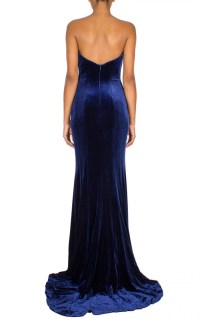 Jovani | Velvet Prom Dress Navy | Women Dresses Online ...