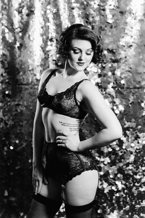 Old Hollywood Glamour Photography Seattle  Belle Boudoir Photography
