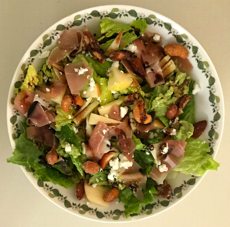 The Cooking Pain: Mediterranean Mix-Up Salad Recipe