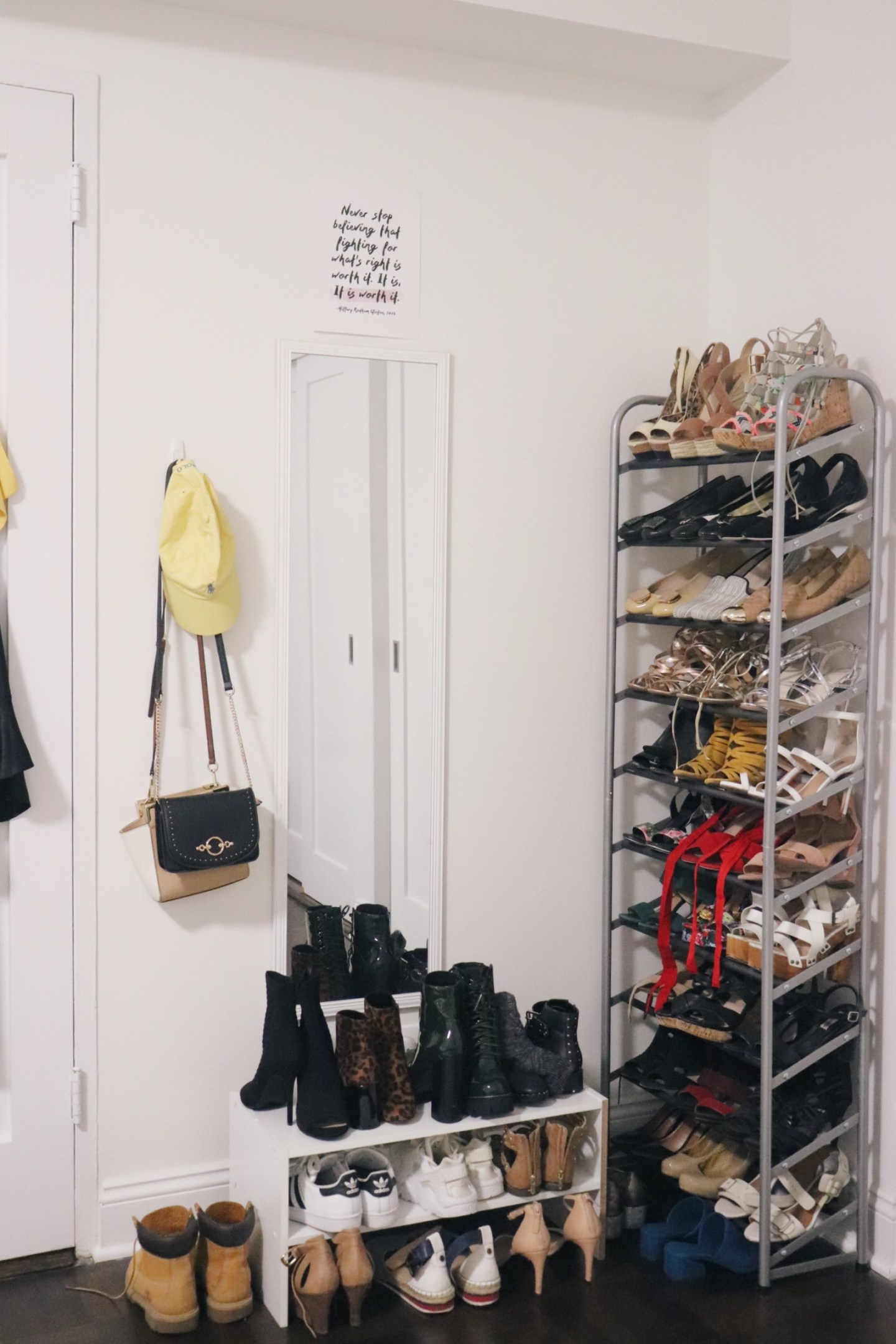 shoe corner
