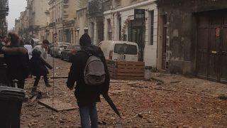 Les photos et vidéos impressionnantes de l'explosion de la rue Borie à Bordeaux