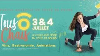Les Portes Ouvertes des Châteaux de Côtes de Bourg se dérouleront le 2 et 3 juillet  !