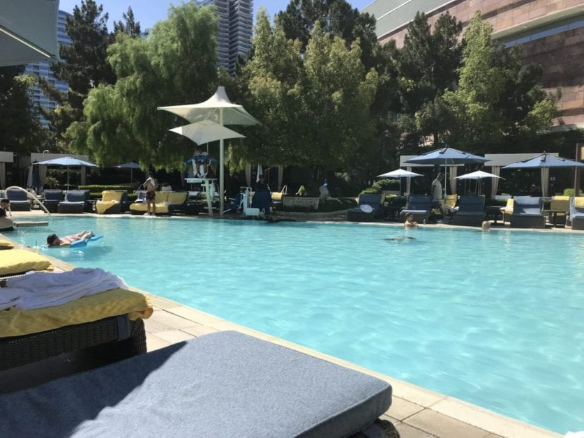 Aria Club Lounge Upgrade Offer on Comped Stay