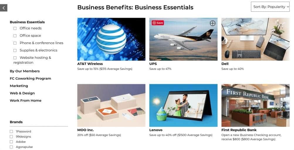 Founderscard benefits 2020