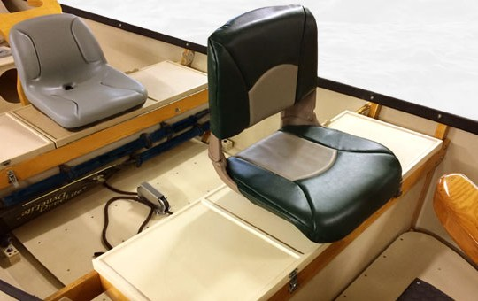 Dry Storage Front Bench and Drift Boat seat