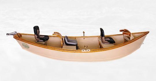 Low Side Pro Guide Drift Boat Hull