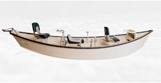 Drift Boat Low Side Polymer Hull
