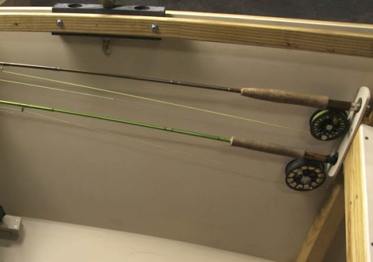 Fly Fishing Rod Holders
