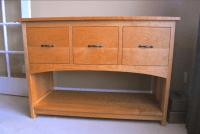 "Cherry ""Prairie"" 3-Drawer File Cabinet Console | Boulder ..."