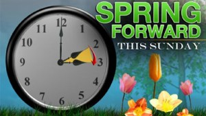 SPRING FORWARD in Time This Sunday!
