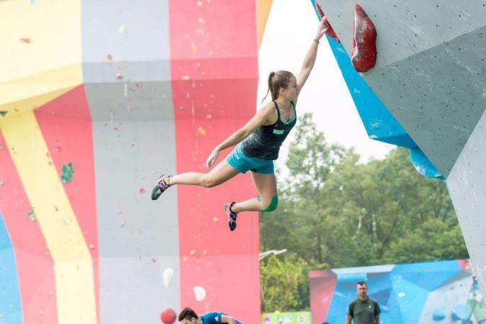Frederike Fell im Finale der Jugendweltmeisteschaft China 2016