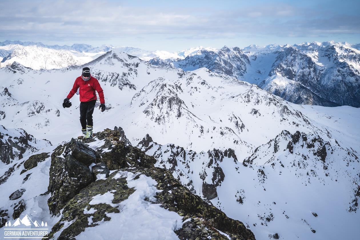 Markus aus unserem Boulderwelt Athletenteam erzählt von seiner Skitouren Durchquerung in der Silvretta