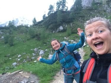 Freddy und Natascha unterwegs in Slowenien beim Klettern, Wandern und Kajak fahren