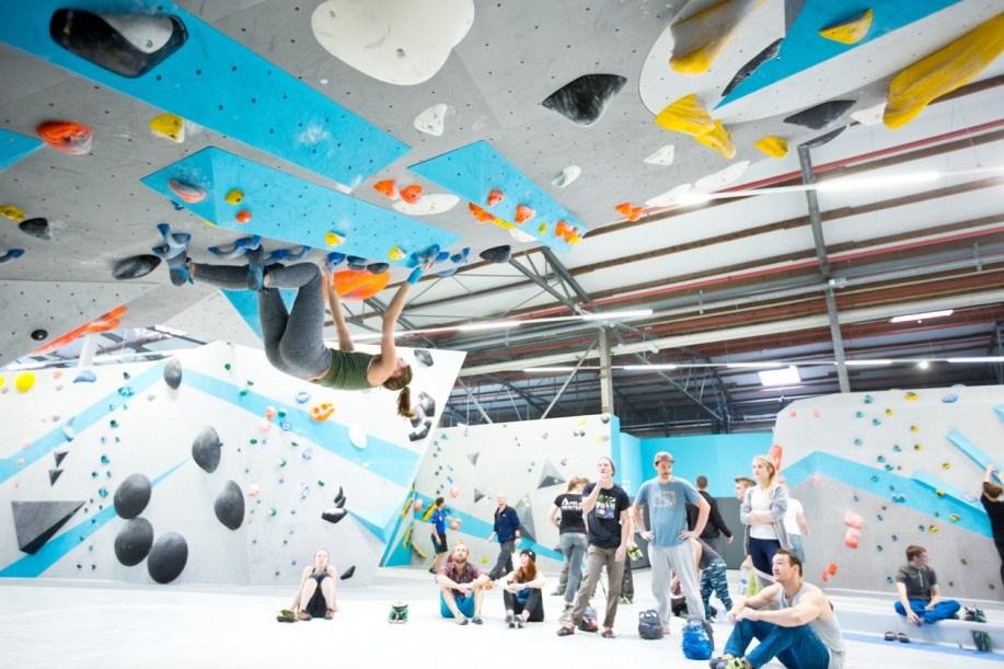 Eindrücke vom ersten Schnuppertag in der Boulderwelt Dortmund
