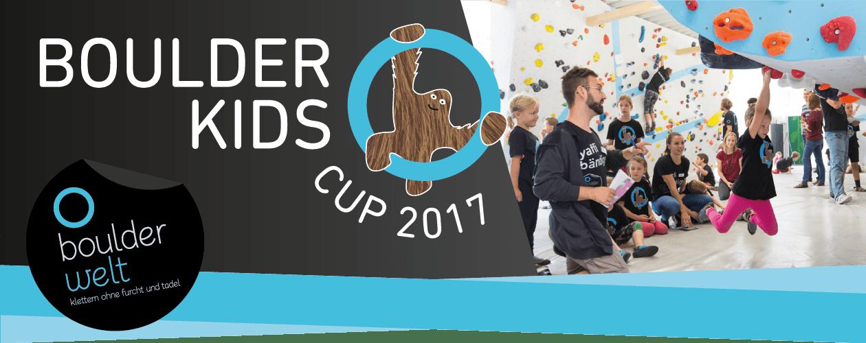 Boulderkids Cup 2017 in der Boulderwelt Frankfurt am 10. Juni