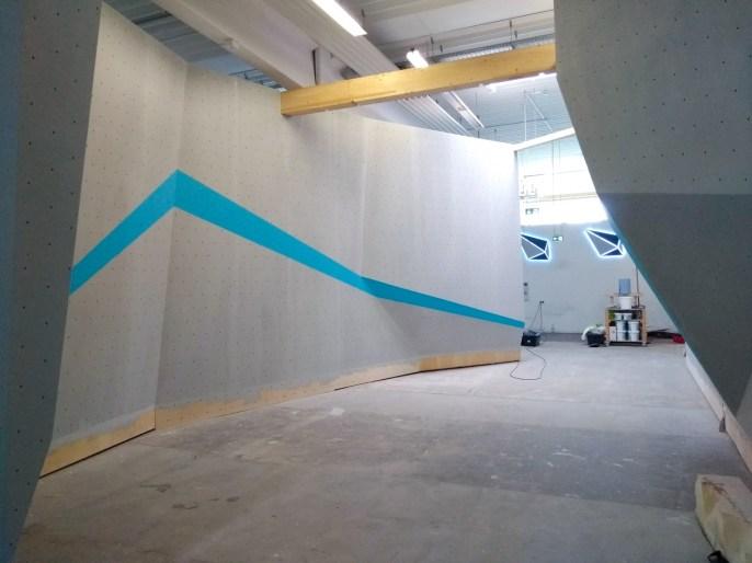Eröffnung des letzen Ausbaus vom Parcoursbereich 2 am 26. Mai 2018 in der Boulderwelt Frankfurt
