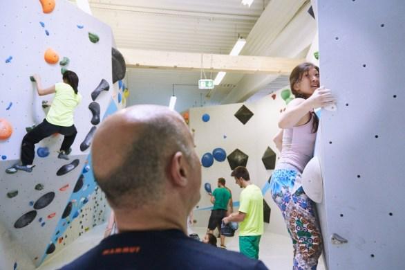 Vierter Ausbau Parcoursbereich 2 Boulderwelt Frankfurt Eröffnung
