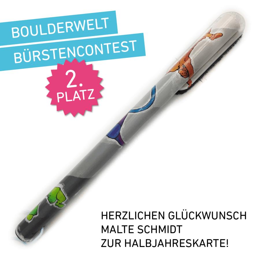 Boulderwelt Bürste Contest Gestaltung Design Frankfurt