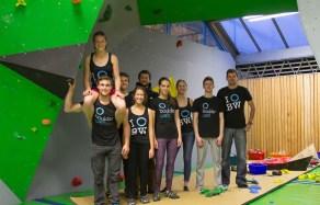 Boulderraum Gymnasium Puchheim