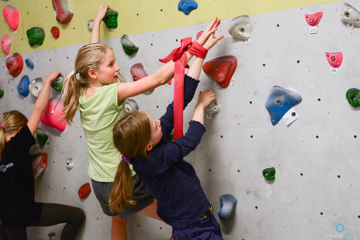 Boulderwelt Youngsters Trainingsworkshop in der Boulderwelt West