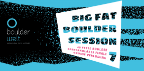 Big Fat Boulder Session 2017 - Veranstaltungsbanner