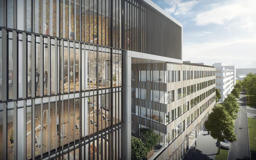 Boulderwelt 2.0 - Boulderwelt München Ost zieht 2019 um. Preview des Plaza Gebäudes