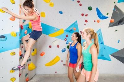 Grundkurs für Frauen von Frauen Trainerin Boulderwelt