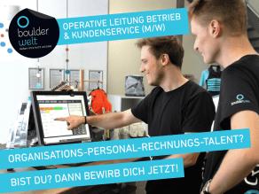 Die Boulderwelt München Ost sucht eine operative Leitung Betrieb und Kundenservice (m/w).