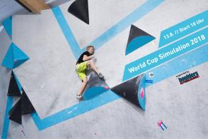 World Cup Halbfinal Simulation am 13. August in der Boulderwelt München Ost