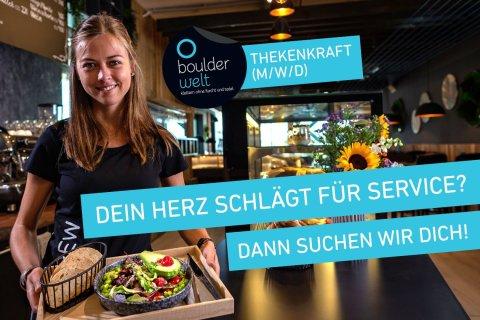 Stellenausschreibung - Jobs - Boulderwelt München Ost sucht Thekenkräfte