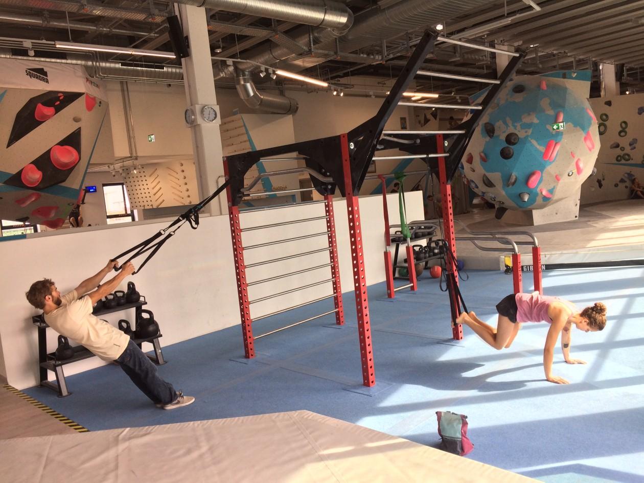 Boulderwelt München Ost stellt Ihre Trainingsmöglichkeiten vor