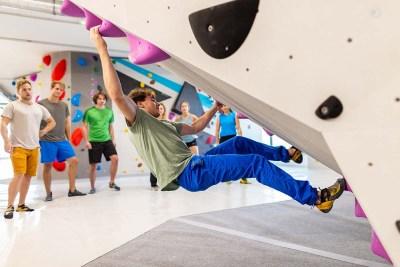 """Boulderworkshop """"von blau zu lila"""""""
