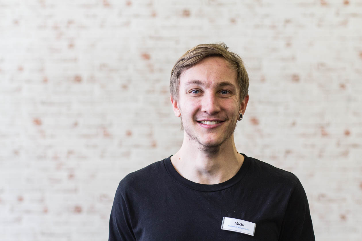 Portrait Trainer Trainingswelt Michi Fischer